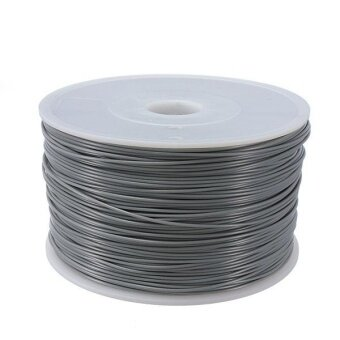 1.75mm 3D Printer ABS Filament For Makerbot Mendel Printrbot Reprap Prusa Sumpod Grey – intl