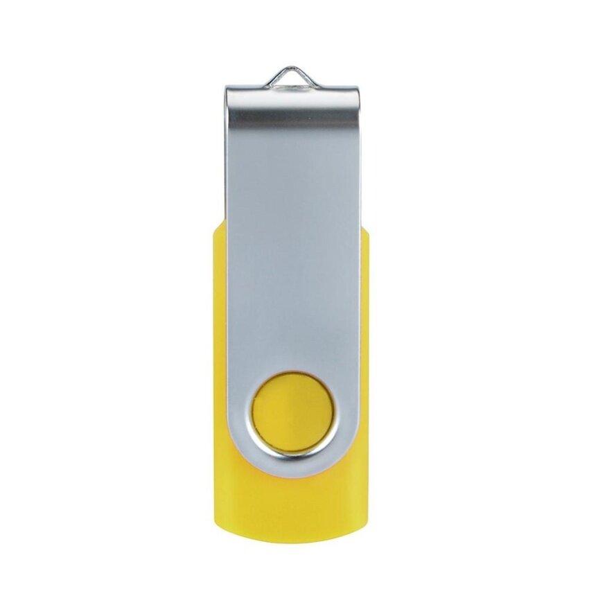 1GB Swivel USB 2.0 OTG Metal Flash Memory Stick Storage Thumb U Disk Yellow - intl