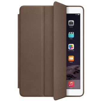 1st Cyber เคสไอแพด 2/3/4 รุ่น Ultra slim PU Leather Flip Smart Stand Case For Apple iPad 2/3/4 (Dark Brown)