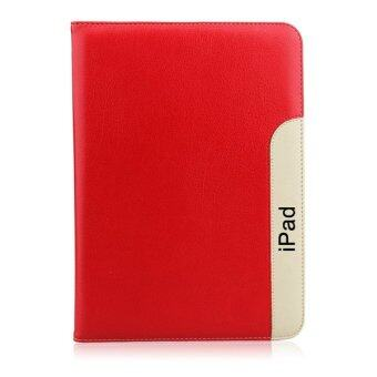 1st Cyber เคสไอแพดมินิ 4 รุ่น Ultra thin Premium PU Leather Case For Apple iPad Mini 4 (Red)