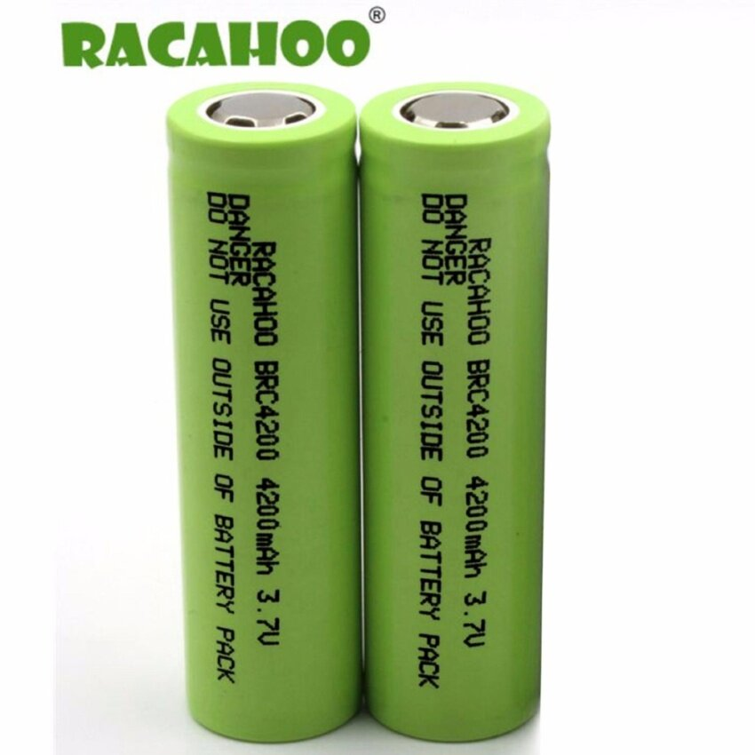 (2ก้อน)ถ่านชาร์จ Racahoo-BRC4200 18650 3.7V