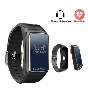 2017 New Arrival B38 SmartBand PK mi band 2 Fitness Bracelet Bluetooth Talk band Fitness Tracker Pedometer For IOS Android - intl
