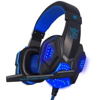 2017 PC780 Deep Bass Game Headphone Stereo Surrounded Over-Ear Gaming Headset Headband Earphone with Light for Computer PC Gamer - intl