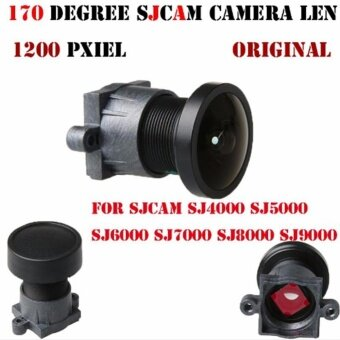 2.1mm 170 Wide FOV Camera Lens Replacement for SJCam SJ4000-SJ9000(Black) - intl - 3