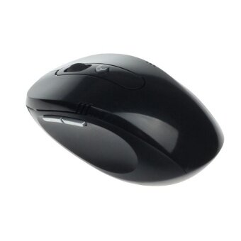 2.4GHz Mini Wireless Optical Mouse Mice for Laptop Computer PCBlack – intl