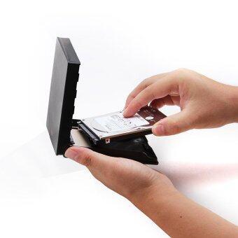 2.5 Inch USB3.0 HDD SSD Docking Station Disk Hard Copy Machine SATA External Storage Enclosure - Black - intl