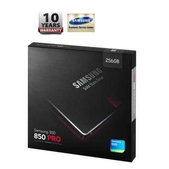 256 GB SSD (เอสเอสดี) SAMSUNG 850 PRO (MZ-7KE256BW) -10 YEARS WARRANTY
