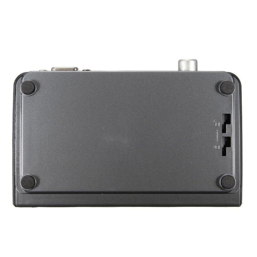 2pcs Digital Terrestrial HDMI 1080P DVB-T T2 TV Box VGA AV CVBS Tuner Receiver Remote EU - intl