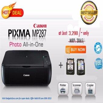 รีวิวพันทิป ปริ้นเตอร์สี 3 in 1 CANON PIXMA MP287
