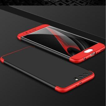 3 In 1 Combo Frosted Armor Hard PC Back Cover 360 Degree Full BodyShockproof Protective Phone