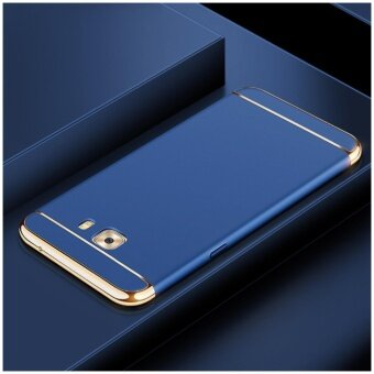 3 In 1 Fashion Ultra Thin Matte Hard Case for For Samsung Galaxy C9Pro/C9(Blue ) - intl
