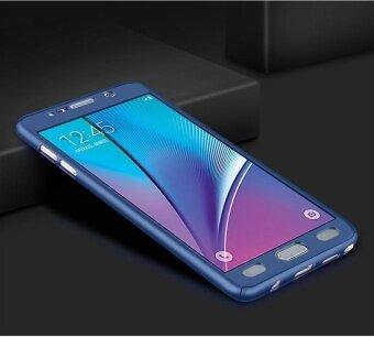 360 Degree All-around Full Body Hybrid Slim Acrylic HardCase+Tempered Glass Screen Protector