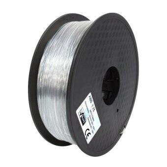 รีวิวพันทิป 3D Print Filament ABS เส้นพลาสติกขนาด 1.75 mm.1 kg.(สีโปร่งใส)