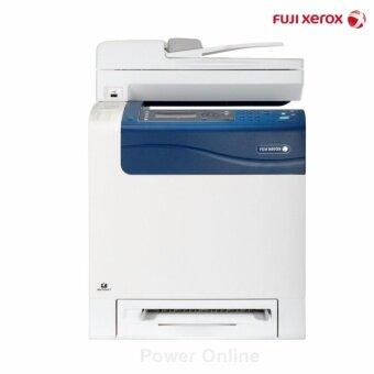 เครื่องพิมพ์สี ฟูจิซีร็อกซ์ 4 in 1 เลเซอร์ มัลติฟังก์ชั่น ปริ้น/สแกน/แฟกซ์/ถ่ายเอกสาร รุ่น CM305df (สีขาว) รับประกัน 3 ปี