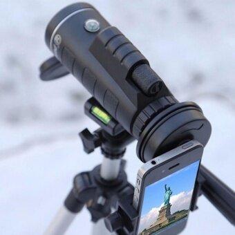 40X60(1500M-9500M) Military HandHeld HD Monocular Telescope forTravelingHuntingCampingHiking. - intl