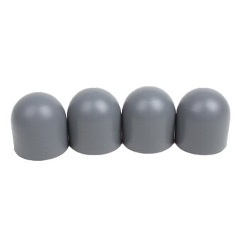 4Pcs Motor Protective Cap Dustproof Dampproof Anti-drop SiliconeMotor Guard Protection Case Cover Kit for DJI Mavic Pro Drone Gray- intl