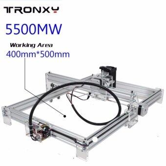 ขอเสนอ 5500mW 40x50cm Mini DIY Laser Engraving Laser Engraver Laser Cutter/ Printer - intl