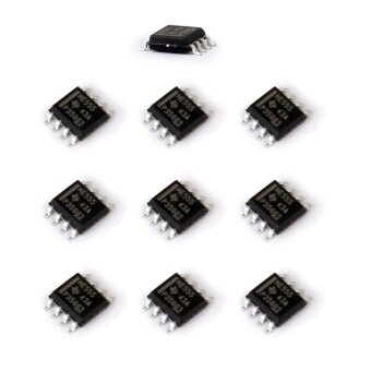 555 Timer IC Module SOP8 Integrated Circuit Chips SMD NE555 10-piece Set - intl