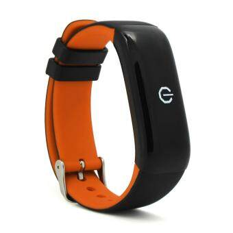 6 Colors Smart Wristband P1 Bluetooth Heart Rate Monitor Bracelet Blood Waterproof Swimming Smart Band - intl