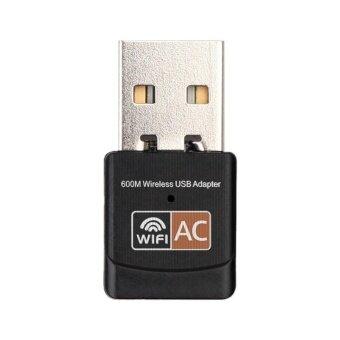 600Mbps Dual Band 2.4G / 5G Hz Wireless Lan USB PC WiFi Adapter802.11AC - intl