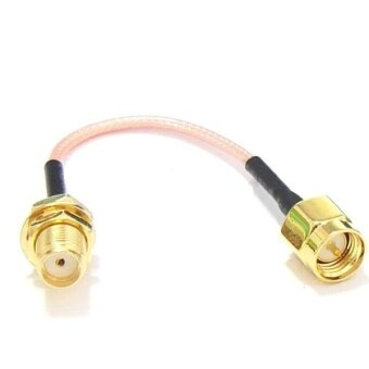 60mm Low Loss Antenna Extension Cord Wire Fixed Base For Antenna SMA RP-SMA RP SMA For RC Drones FPV SMA - intl