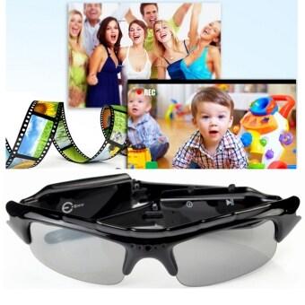 720P DVR แอบบันทึกเสียงวีดีโอ Dvที่แว่นตาแว่นตากันแดดแว่นตากล้องซ่อน-Intl