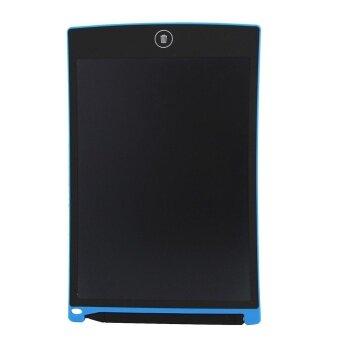 8.5/ Digital LCD Writing Tablet eWriter Graffiti Board HandwritingNotepad (Blue) - intl
