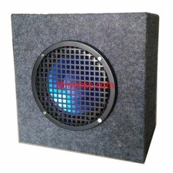 ตู้ลำโพง8นิ้ว600วัตต์ 4-8โอห์ม SUBWOOFERหุ้มกำมะหยี่ รุ่น:SUBBOX-8600w