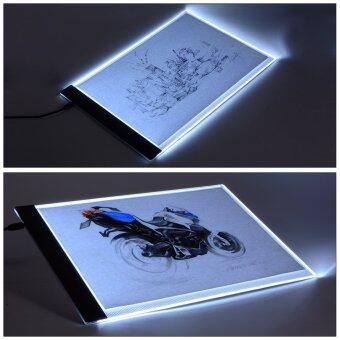 กระดานรองวาดภาพ A4 LED Art