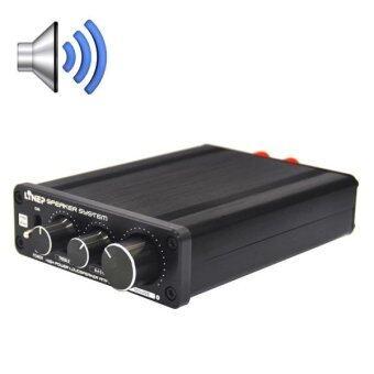 A928 Treble-bass 136W High-power Amplifier(Black) - intl