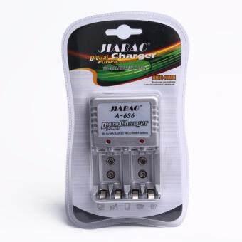 เครื่องชาร์จถ่าน AA / AAA / 9V Digital Charger Power รุ่น A-636