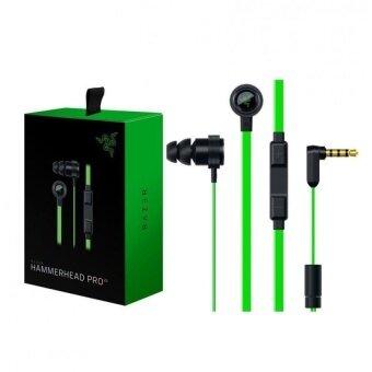 AAA + Razer Hammerhead V2 Pro หูฟังชนิดใส่ในหูพร้อมไมโครโฟนสำหรับเล่นเกมไมโครโฟนระบบเสียงรบกวนสเตอริโอ Deep Bass โทรศัพท์มือถือ หูฟังคอมพิวเตอร์ - intl