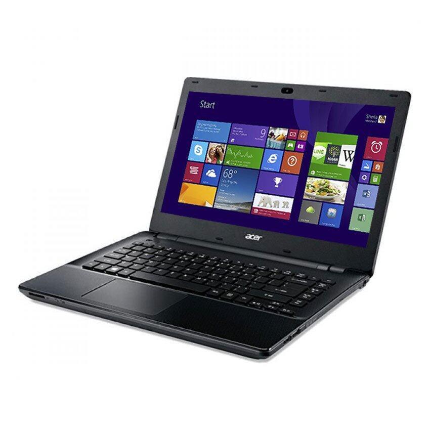 "Acer Aspire (E5-411G-P647) 14""N3530GeForce 820M4GB500GBLinux – Black"