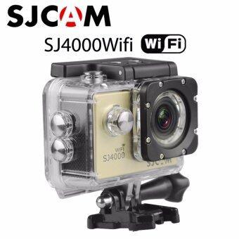 Action cam Car camera กล้องแอ็คชั่นแคม กล้องติดรถยนต์ กล้องติดหมวกกันน็อค กล้องกันน้ำ SJCAM SJ4000 Wifi