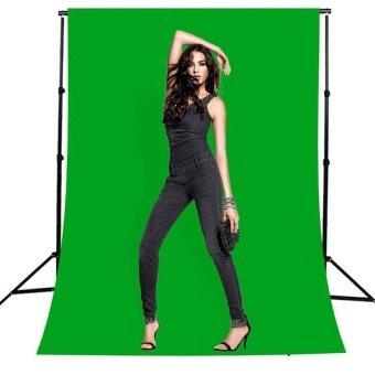 ADS Professional Camera Accessories Photography Green Backdrop 2x3M Photo Studio Video Lighting Chromakey Background - intl