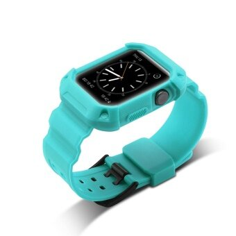 ADS Replace TPU Sport Watch Strap Wrist Band Watch Band Durable For Apple Watch 42mm - intl