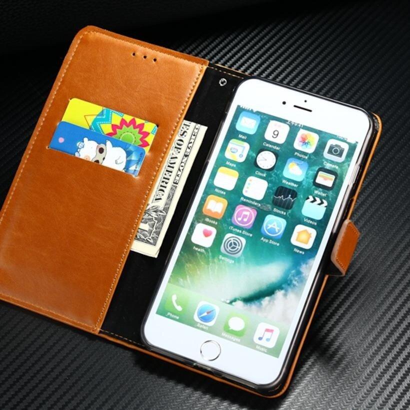 AKABEILA Leather Wallet Phone Case for Vivo V5 Vivo Y67 5.5 inchLuxury Plain .