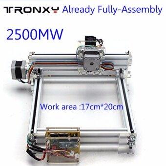 Already assembly 2500mW 17x20cm Area Mini Laser Engraving CuttingMachine Printer Desktop - intl