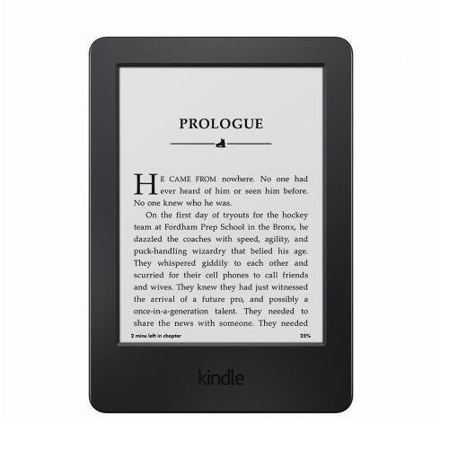 Amazon เครื่องอ่านหนังสือ Amazon Kindle 6 Ebook Reader Black, 8th gen, 4 GB, Wi-Fi, w/ Special Offer  ปี 2016