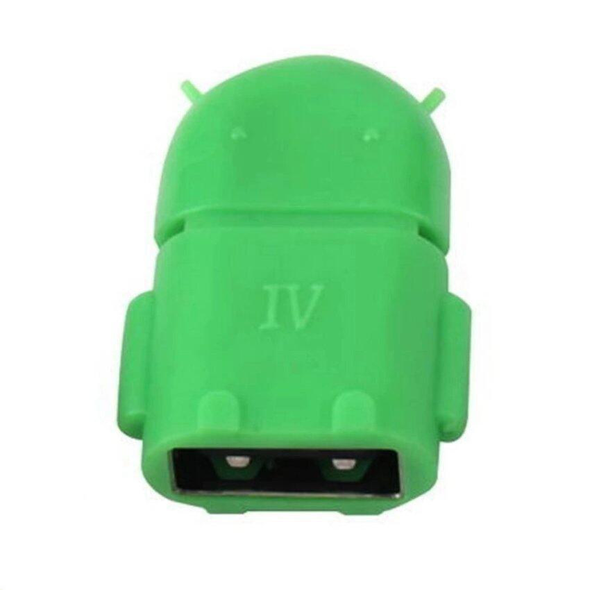 ampko Micro OTG Android สำหรับมือถือ และแท็บเล็ต (สีเขียว)