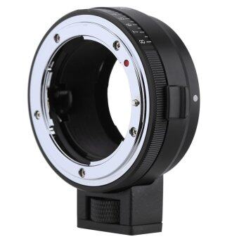 Andoer NF-NEX Lens Mount Adapter with Aperture Dial for Nikon G/DX/F/AI/S/D Type Lens to use for Sony E-Mount NEX Camera 3/3N/5N/5R/7/A7/A7R/A7S/A5000/A5100/A6000 camera - Intl