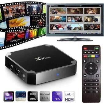 Android 7.1 X96 Smart Mini TV Box Black