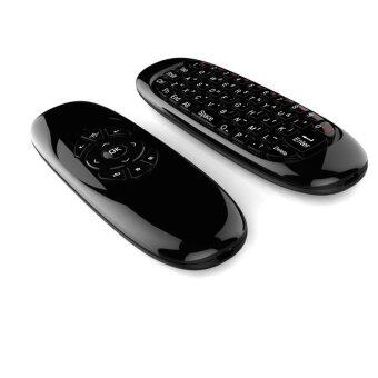 Android Box PRO C120 Air Mouse 2.4 G Wireless Mini Keyboard (Black)