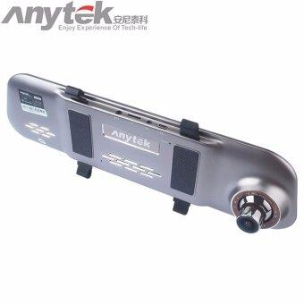 Anytek กล้องติดรถยนต์แบบกระจกมองหลัง รุ่น A80