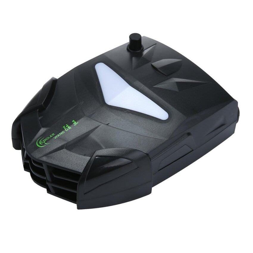 AOJBTENG Laptop Cooler With Vacuum Fan, Laptop Air Extracting Cooling Fan (Black) - intl