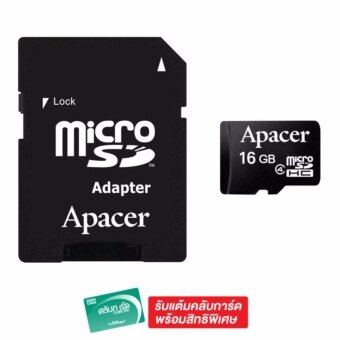 APACER MICRO SDHC CLASS4 16GB+ADAPTER