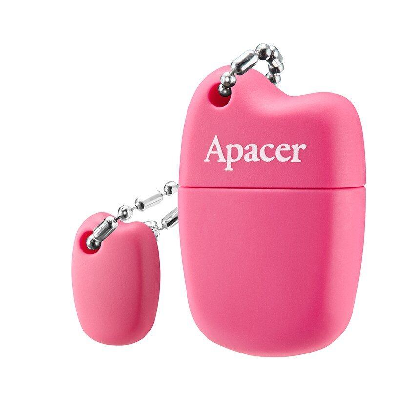 Apacer USB แฟลชไดรฟ์ รุ่น 2.0 AH118 16GB (สีชมพู)