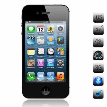 Apple iPhone 4S 16gb BLACK 3.5