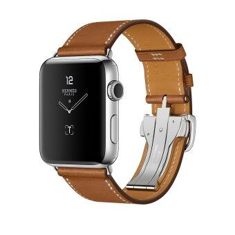 Apple Watch Band, 42mm Venter® Luxury Genuine Leather watch Bandstrap Bracelet Replacement Wrist Band for 42mm Apple Watch - intl