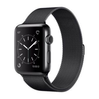 Apple Watch Series 1 38mm Milanese Loop 316L Space Black StainlessSteel (Space Black / Space Black)